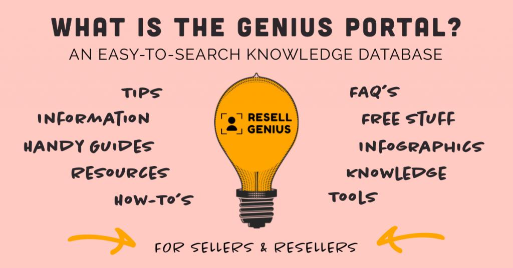 resell genius -genius portal