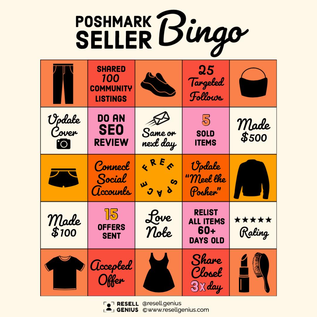 poshmark bingo