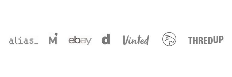 resale sites logos