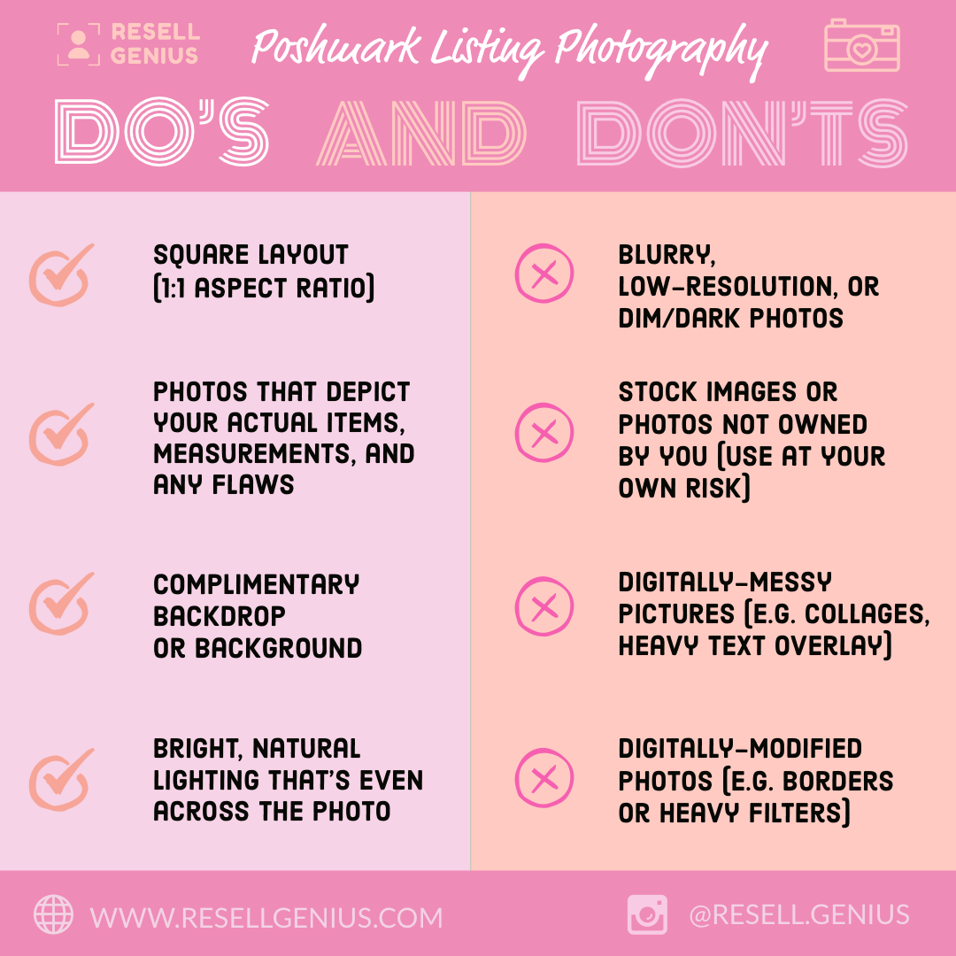 do_and_dont_poshmark_photography